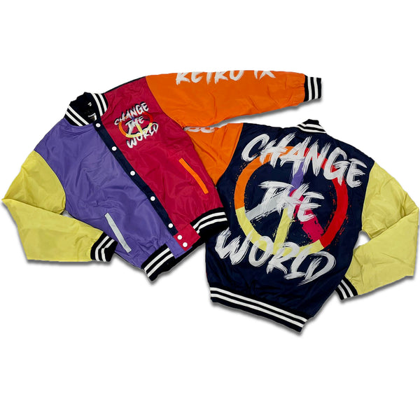 Retro Label Change the World Women Jacket (Retro 9 Change the World -  Women)