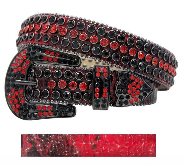 DNA Belt Red Fade (Black/Red)