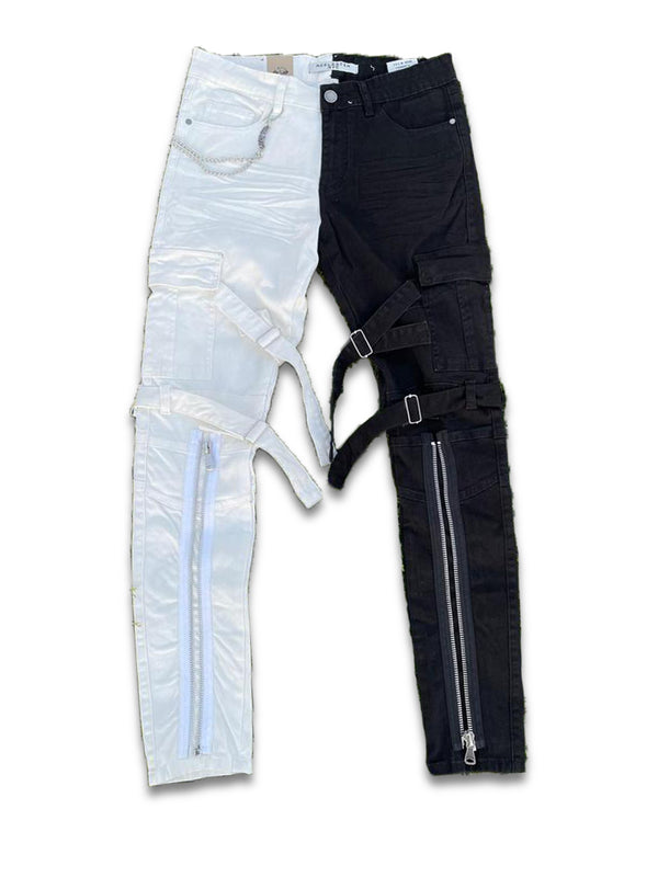 Reelistik Baghdad Denim (Black/White)