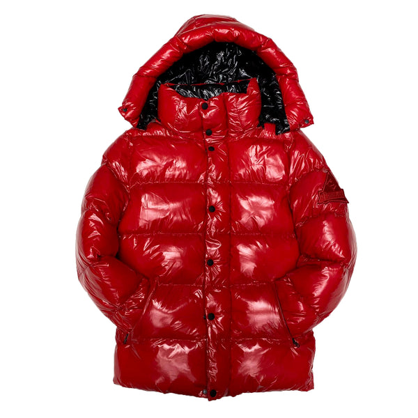 Point Zero Bubble Jacket (Red)
