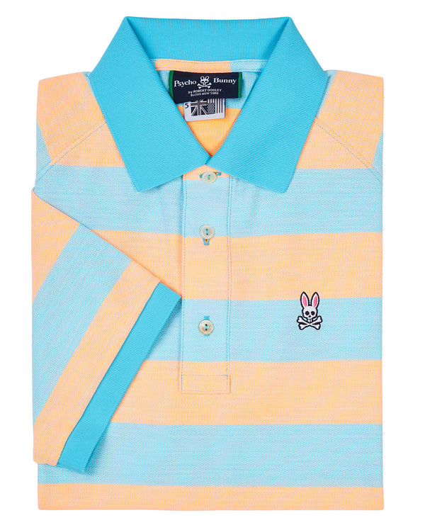 Psycho Bunny Mens Sport Romiley polo (Bluefish)
