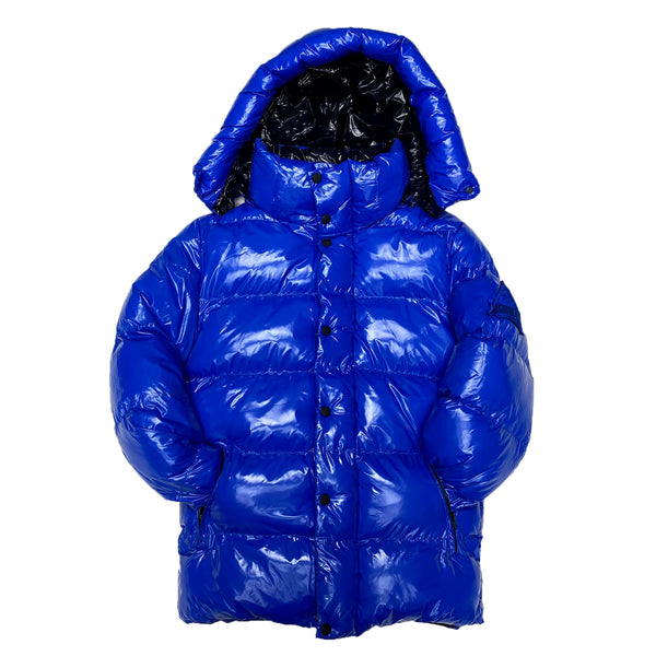 Point Zero Bubble Jacket (Blue)