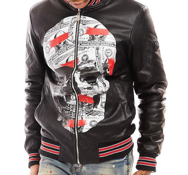 Reelistik Skull Jacket (Black/Red)