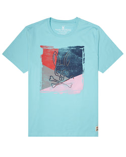 Psycho Bunny mens graphic tee (antigua)