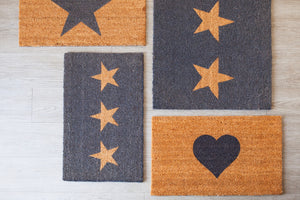 Three Star Doormat (Available in Two Sizes)