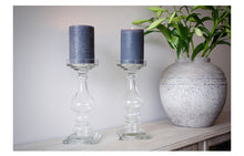 Load image into Gallery viewer, Luella Glass Candlesticks (Expected February)
