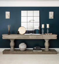Load image into Gallery viewer, Sarah Console Table Pre Order for February 2020 ** 20% Deposit holds yours ** Full Price is £1095