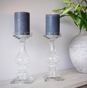 Luella Glass Candlesticks (Expected February)