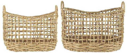 Open Braid Basket (Available in Two Sizes)