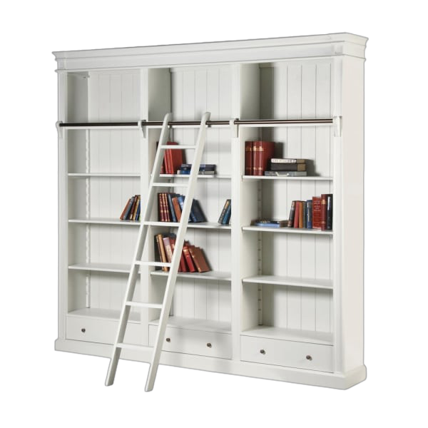 Theodore Shelves with Ladder
