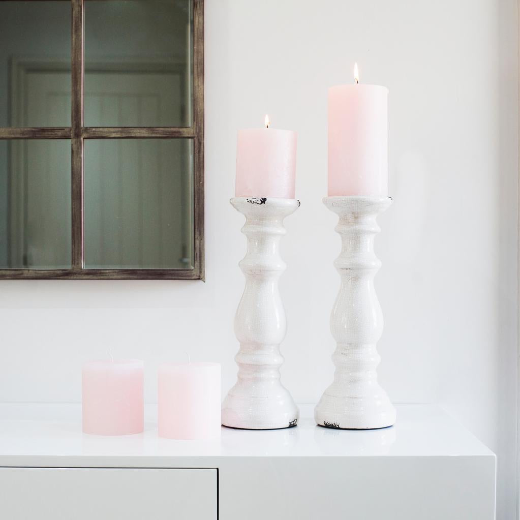 Dawn of Spring Chunky Pink Candle