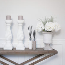 Load image into Gallery viewer, Copenhagen Pillar Candlesticks (Pair) Now taking Pre Orders for October Delivery