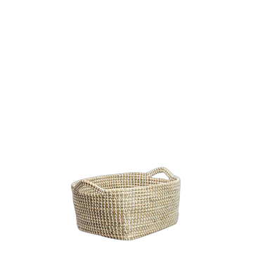 Molly Seagrass Basket (Available in Two Sizes)