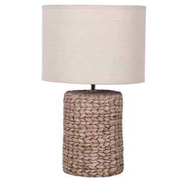 St Mawes Rope Effect Lamp Small