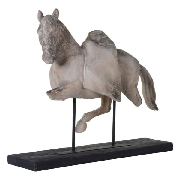 Equus Horse Sculpture on Stand