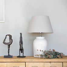 Load image into Gallery viewer, Madrid Distressed Ceramic Lamp