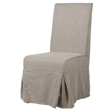 Linen Dining Chair Taupe