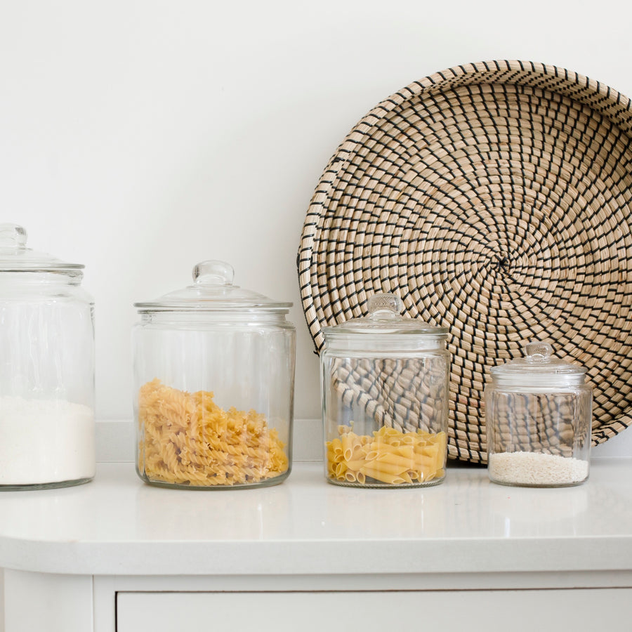Prestbury Glass Storage Jars (Various Sizes)