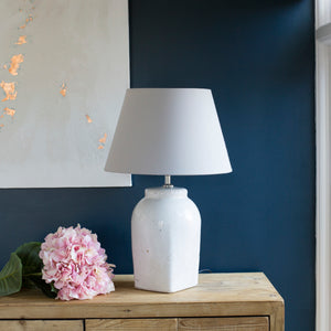 Madrid Distressed Ceramic Lamp