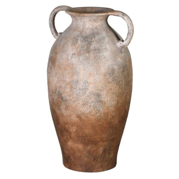 Antiqued Ceramic Urn Slim