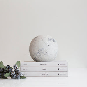 Grey Stone Sphere (Available in Two Sizes)