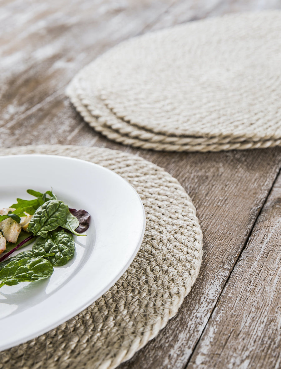 Jute Placemats (Set of Four)