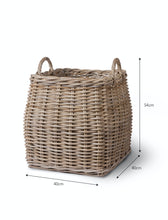 Load image into Gallery viewer, Padstow Handwoven Rattan Basket
