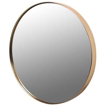 Gold Round Mirror (Available in Two Sizes)