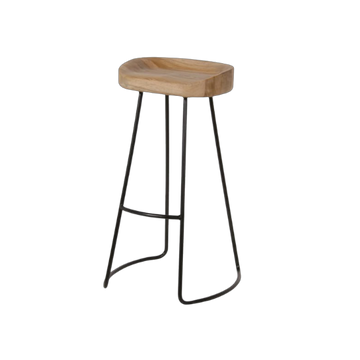 Weathered Oak Stool
