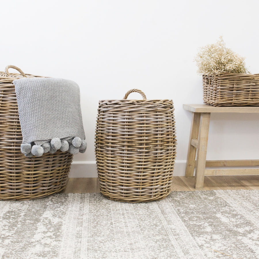 Saltash Laundry Basket (Available in Two Sizes)