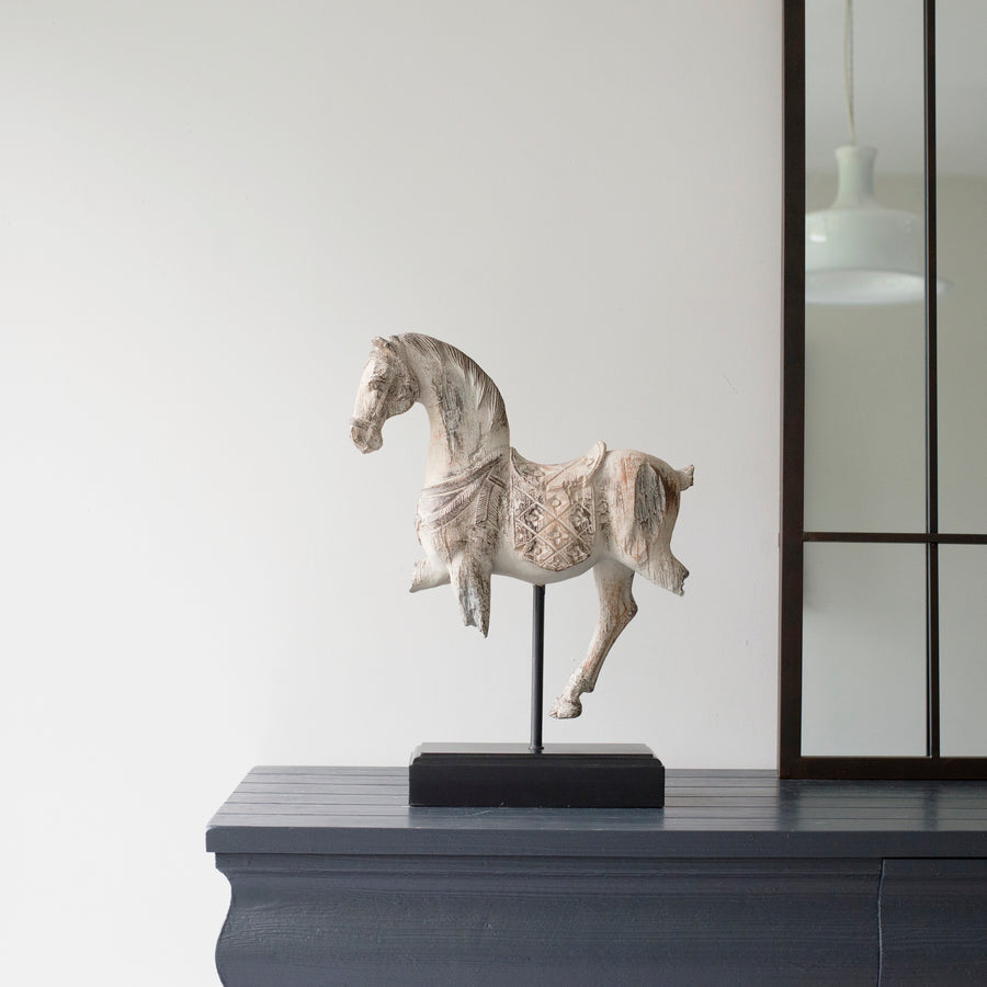 Horse Sculpture on a Stand