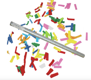Multicolor Confetti Sticks