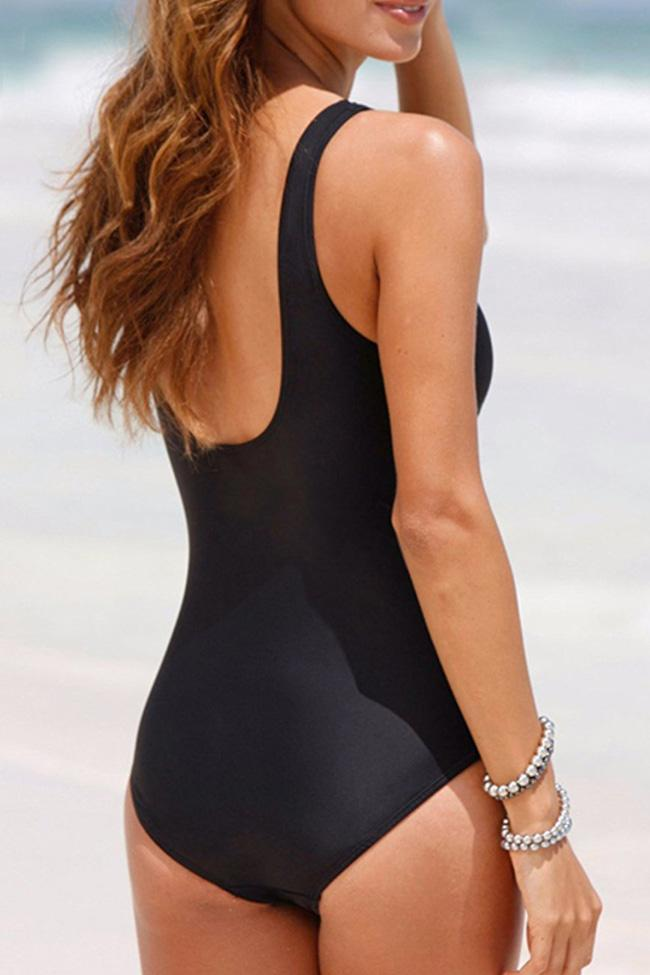 One Piece Ruched Swimsuit SO203
