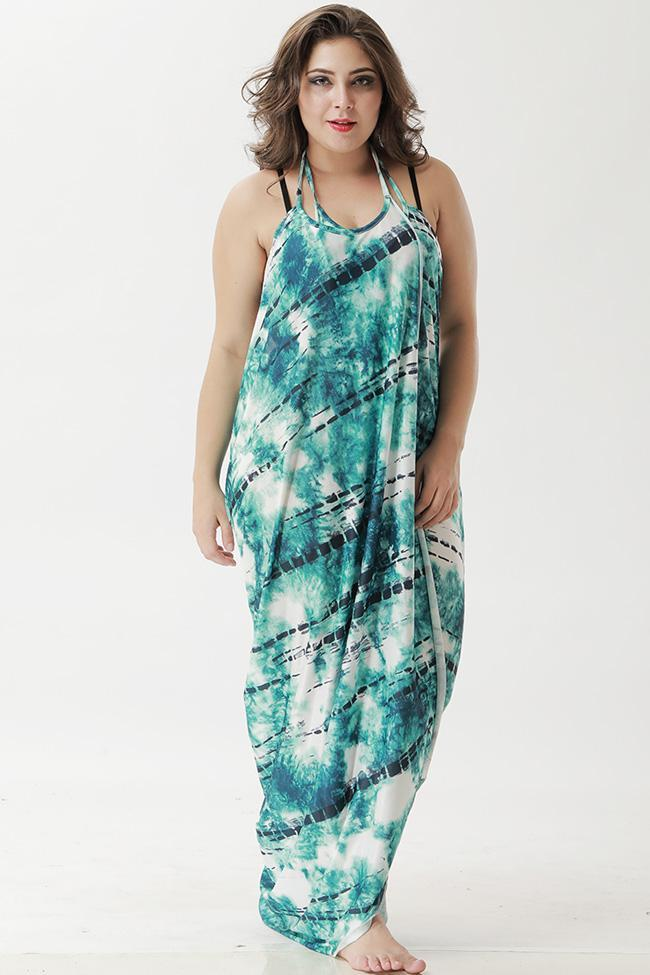 Multiway Beachwear Plus Size Wrap Cover Up Dresses SK0193