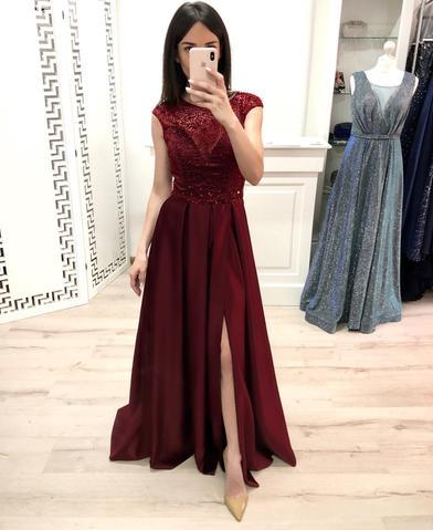 products/A_Line_Burgundy_Cap_Sleeve_Prom_Dresses_Long_Beading_Slit_Evening_Party_Dresses_PW897.jpg