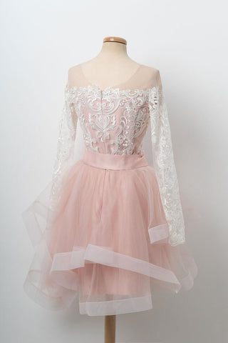 products/A_Line_Long_Sleeve_Scoop_Pink_Lace_Appliques_Homecoming_Dresses_With_Tulle_Belt_H1048-1.jpg