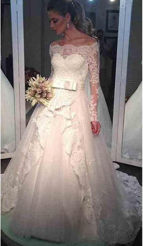 products/Ball_Gown_Long_Sleeve_Off_the_Shoulder_Wedding_Dresses_Lace_Appliques_Bridal_Dresses_W1034-1.jpg