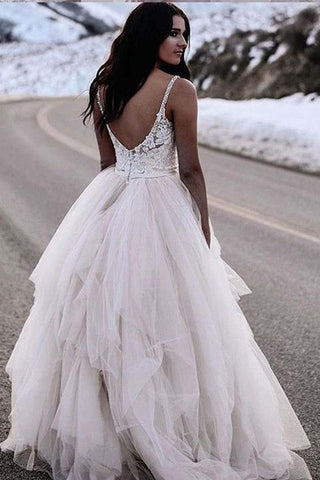products/Chic_Straps_Lace_Top_Backless_Tulle_Asymmetrical_Ivory_Wedding_Dresses_Bridal_Dresses_W1022-1.jpg