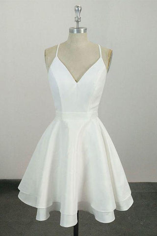 products/Cute_Spaghetti_Straps_White_V_Neck_Knee_Length_Short_Prom_Dress_Homecoming_Dress_H1011.jpg