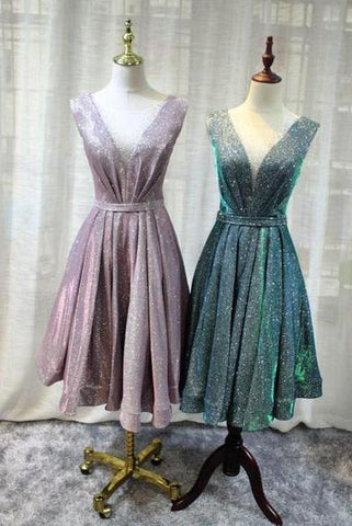products/Gorgeous_V_Neck_Knee_Length_Bridesmaid_Dress_Lace_up_Sequin_Homecoming_Dresses_H1065.jpg