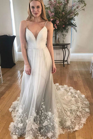 products/Grey_Deep_V_Neck_Spaghetti_Straps_Beach_Wedding_Dresses_Backless_Tulle_Appliques_Bridal_Dress_W1047-1.jpg