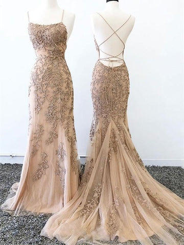 products/Mermaid_Lace_Appliques_Spaghetti_Straps_Criss_Cross_Prom_Dresses_Long_Evening_Dress_P1009.jpg