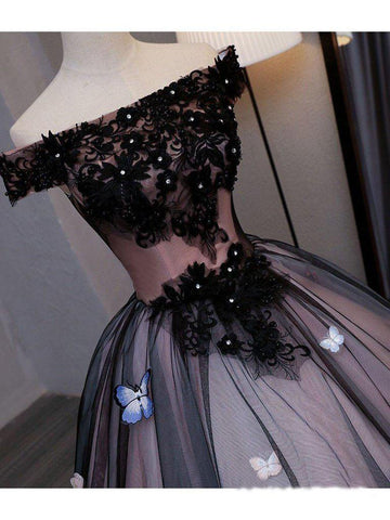 products/Princess_Black_Off_the_Shoulder_Butterfly_Appliqued_Princess_Quinceanera_Dresses_PW886-2.jpg
