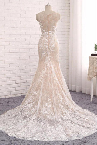 products/Princess_Mermaid_Lace_Appliques_Scoop_Straps_Ivory_Wedding_Dresses_Bridal_Dresses_W1013-1.jpg