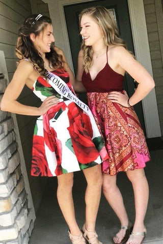 products/Strapless_Red_Floral_Print_Homecoming_Dresses_with_Pockets_Vintage_Short_Prom_Dresses_PW809.jpg