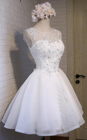 products/White_Simple_Graduation_Dress_Scoop_Tulle_Straps_Homecoming_Dresses_with_Lace_up_H1063-3.jpg