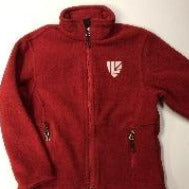 Adult Red Fleece Jacket (SH)
