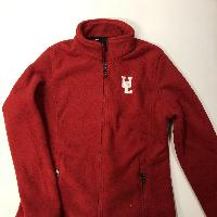 Ladies Red Fleece Jacket