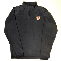 Adult Quarter Zip Navy Performance Pullover