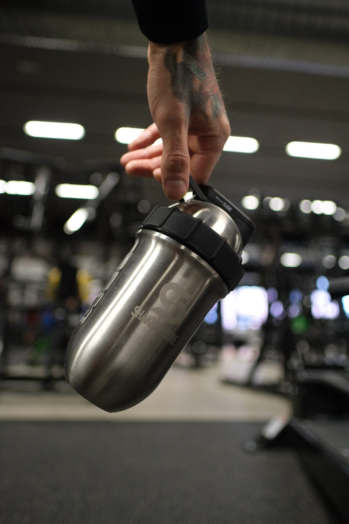 Steel Shaker Bottle From Shakesphere
